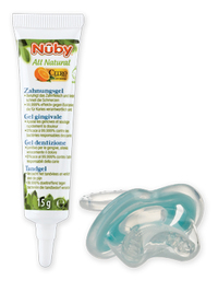 Nuby Teething gel + Gum-eez™ teether – 15g - 4m+ CG23015