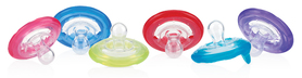 Nuby 2 Natural Flex™ Cherry Pacifiers - 0-6m ID5822SACS