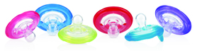 Nuby 2 Natural Flex™ Cherry Pacifiers - 6-36m ID5822MACS