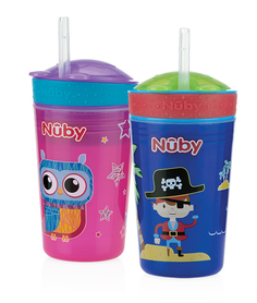 Nuby  Drink & Snack Cup - 270ml - 24m+ ID10373