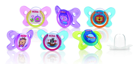 Nuby Butterfly Oval Soother - 6-36 m ID5857MFS