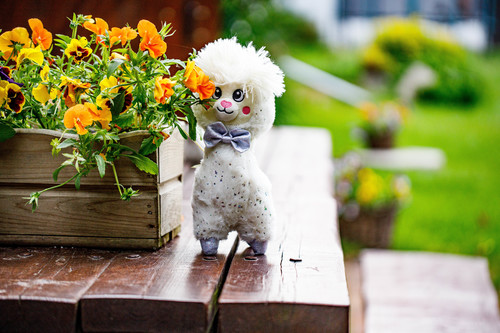 InnoGIO GIOplush GIOalpaca White Cuddly GIO-828WHITE (10)