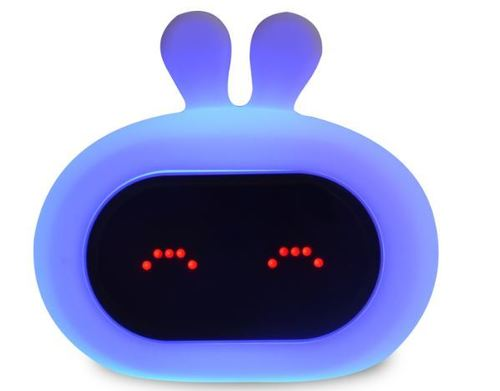 InnoGIO GIOrabbit Alarm Clock & Silicone Night Lamp GIO-135 (4)