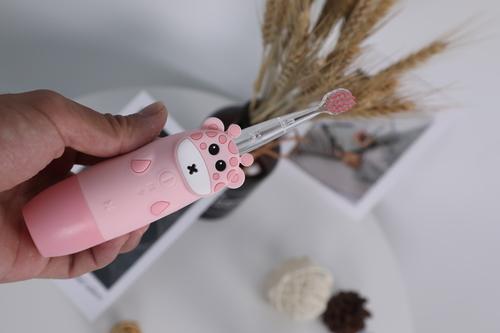 InnoGIO Sonic toothbrush for children GIOgiraffe Pink GIO-450PINK (5)